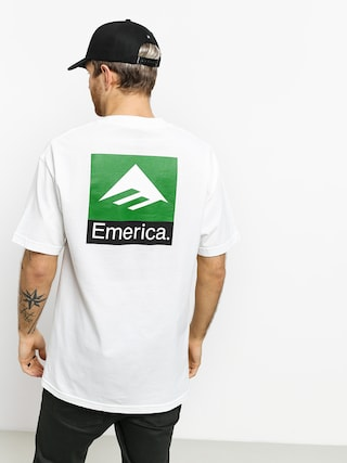 T-shirt Emerica Classic Back Print (white)