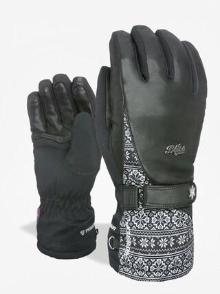 Ru0119kawice Level Bliss I Crystal Gore Tex Wmn (black/grey)