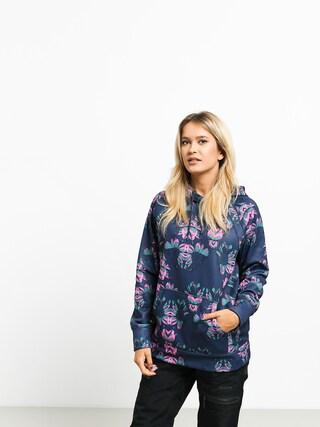 Bluza z kapturem Burton Crown Bnd HD Wmn (dress blue stylus)
