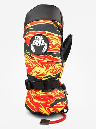 Ru0119kawice Crab Grab Cinch Mitt (flame thrower)
