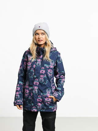 Kurtka snowboardowa Burton Jet Set Wmn (dress blue stylus)