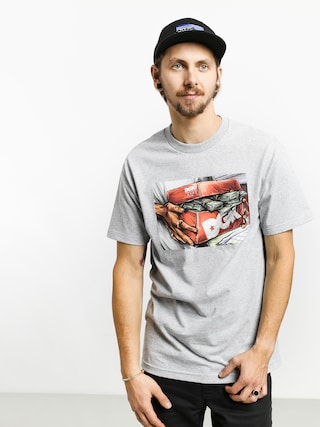 T-shirt DGK Loaded (athletic grey)