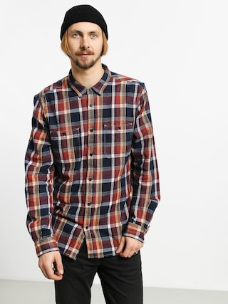 Koszula Etnies Ruskin Flannel (brown/navy)