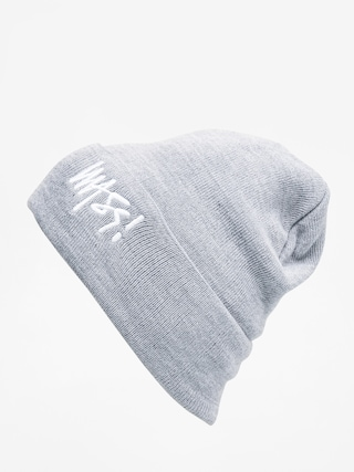 Czapka zimowa MassDnm Signature (light heather grey)