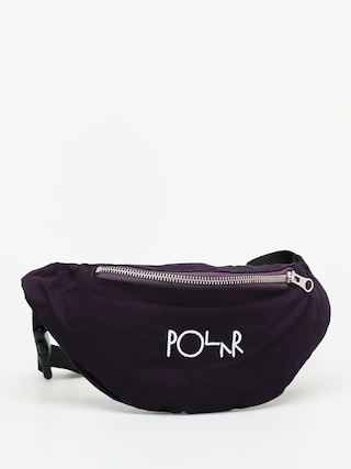 Nerka Polar Skate Script Logo Hip Bag (prune)