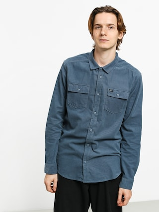 Koszula RVCA Freeman Cord Ls (china blue)