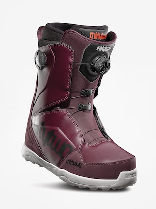 Buty snowboardowe ThirtyTwo Lashed Double Boa (maroon/black/white)