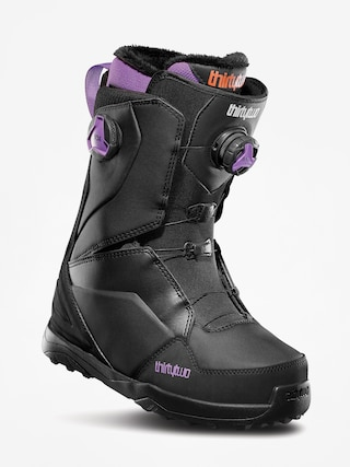 Buty snowboardowe ThirtyTwo Lashed Double Boa Wmn (black/purple)