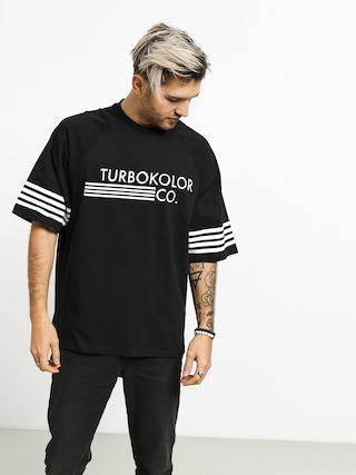 T-shirt Turbokolor Baseball Oversize (black)