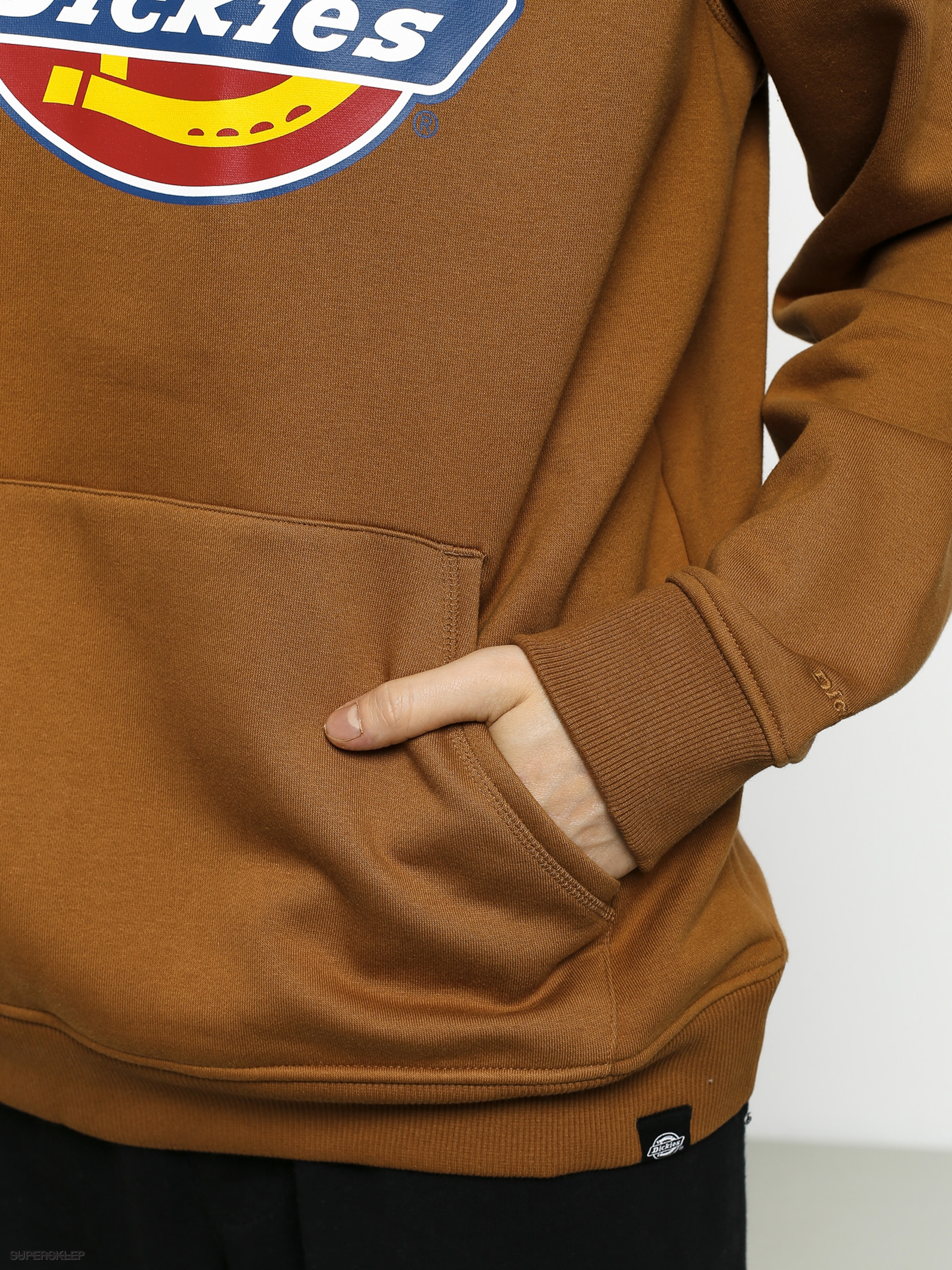 Bluza z kapturem Dickies San Antonio HD (brown duck)