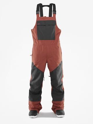 Spodnie snowboardowe ThirtyTwo Basement Bib (brick)