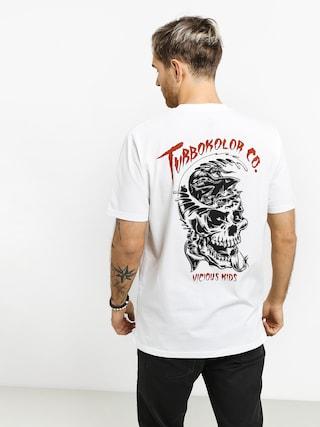 T-shirt Turbokolor Wave (white)