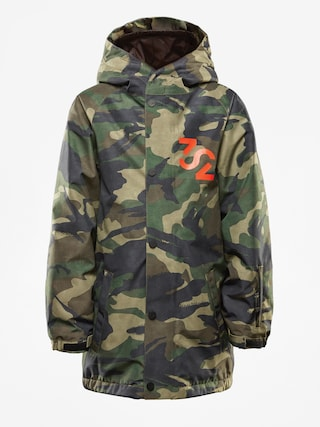 Kurtka snowboardowa ThirtyTwo League Youth (camo)