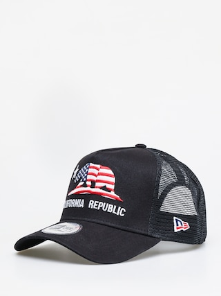 Czapka z daszkiem New Era Canvas Cali Trucker ZD (black)
