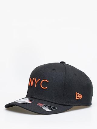 Czapka z daszkiem New Era Stretch Snap Nyc ZD (black/orange)