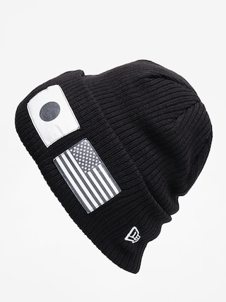 Czapka zimowa New Era Flag Watch Knit (black/optic white)