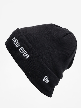 Czapka zimowa New Era Cuff Knit (black/white)