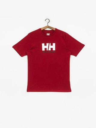 T-shirt Helly Hansen Logo (oxblood)