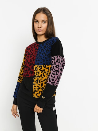 Bluza Vans Wyld Tangle Wmn (leopard patchwork)