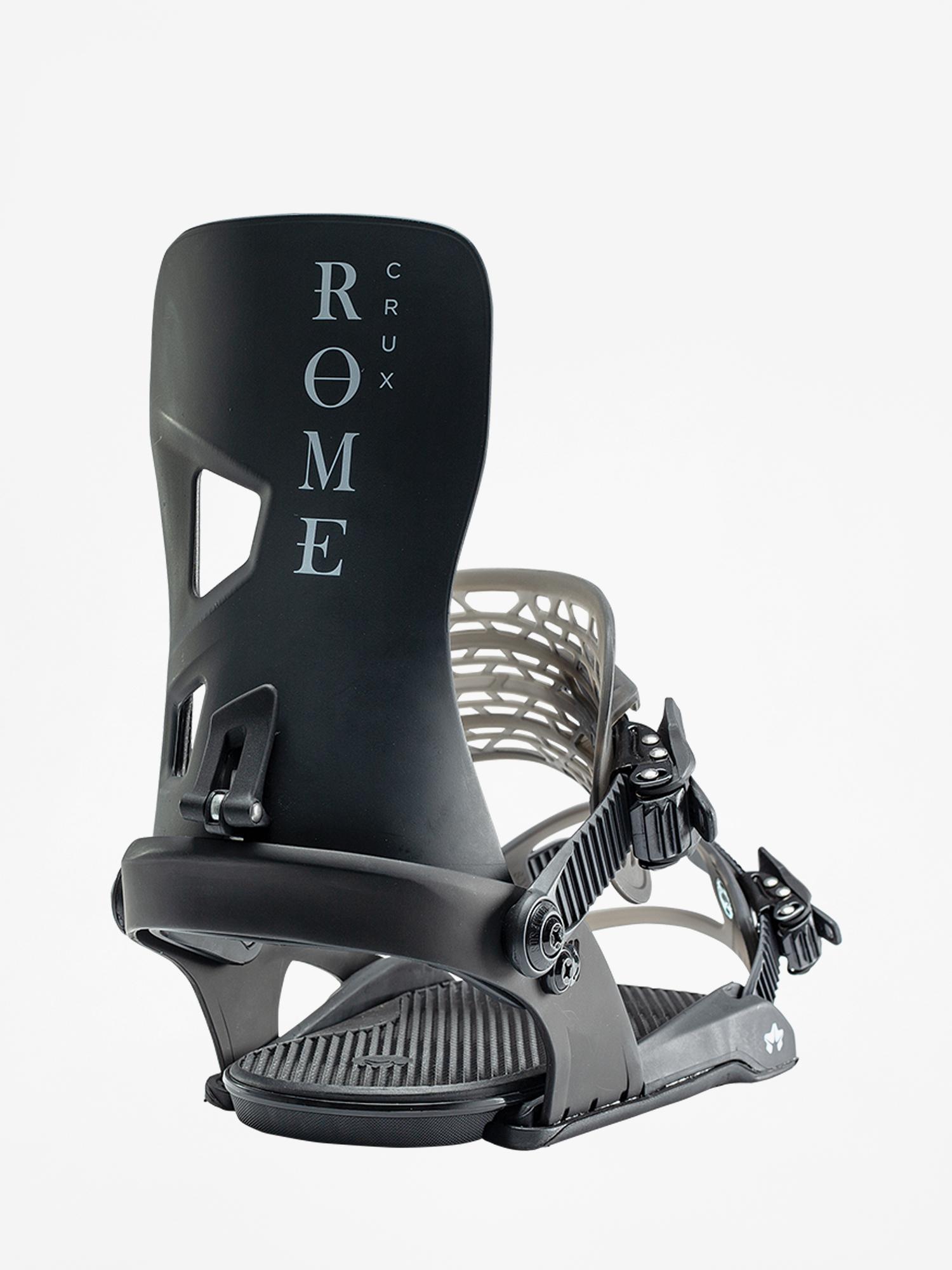 Wiązania snowboardowe Rome Crux (black)