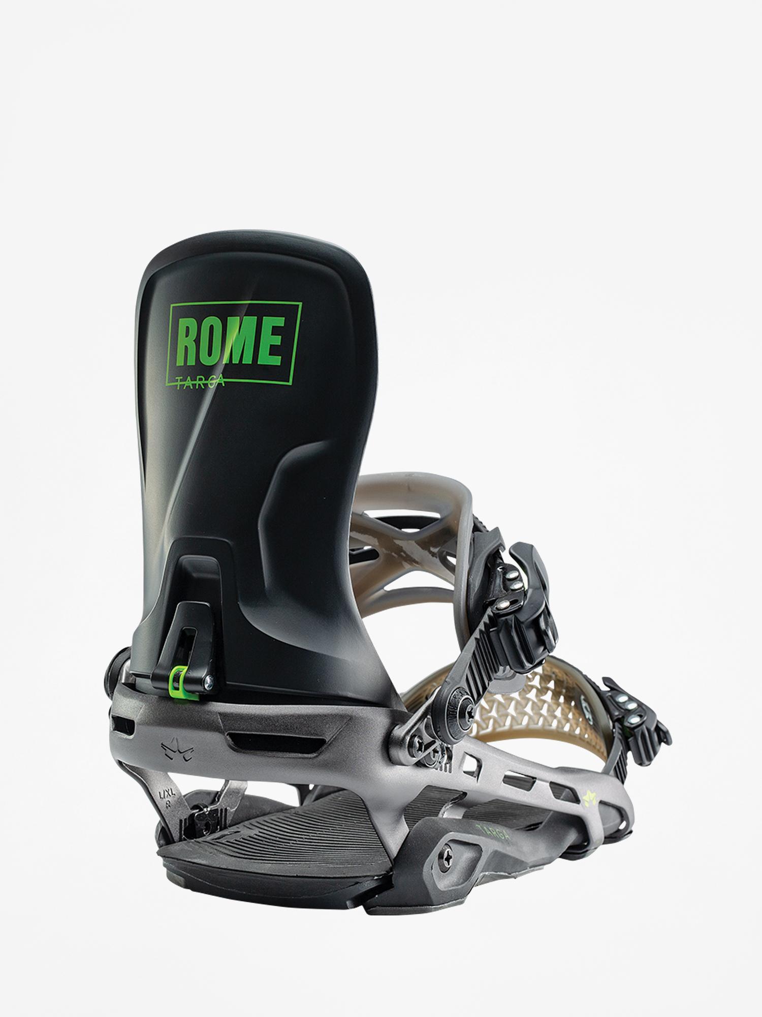 Wiązania snowboardowe Rome Targa (black)