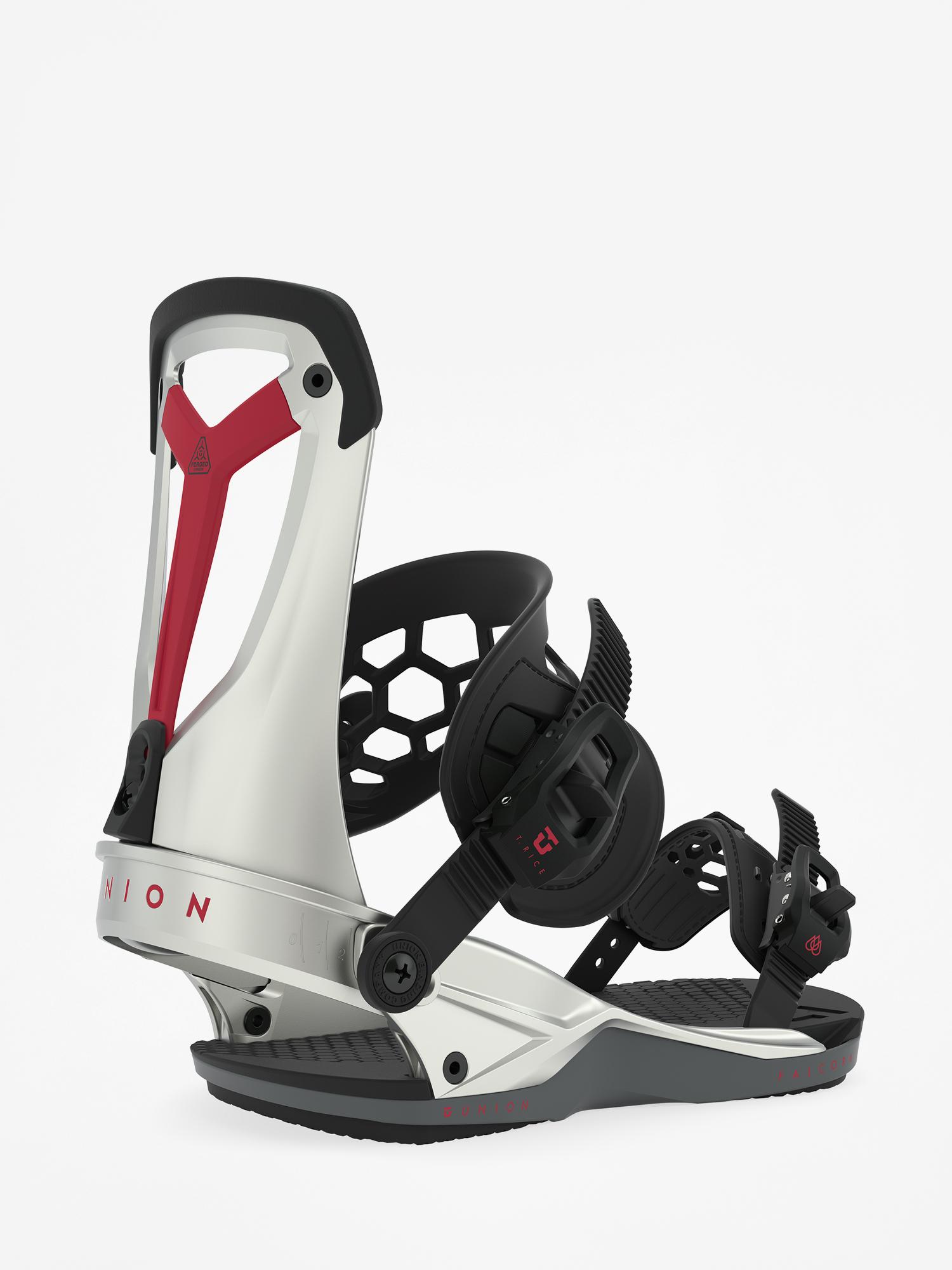 Wiu0105zania snowboardowe Union Falcor (silver plasma)