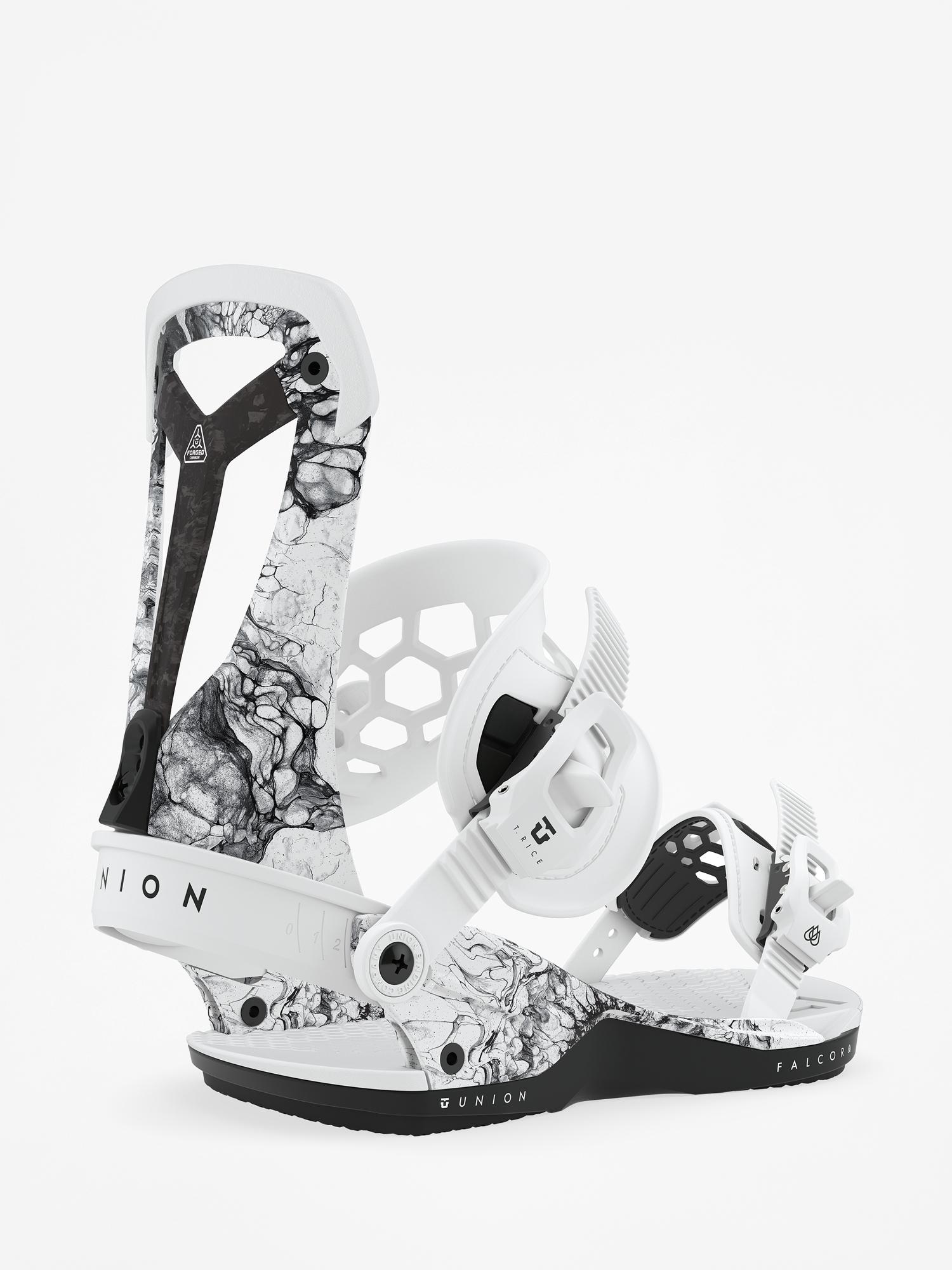 Wiu0105zania snowboardowe Union Falcor (white)