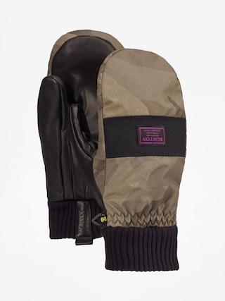 Ru0119kawice Burton Damitt (worn camo)