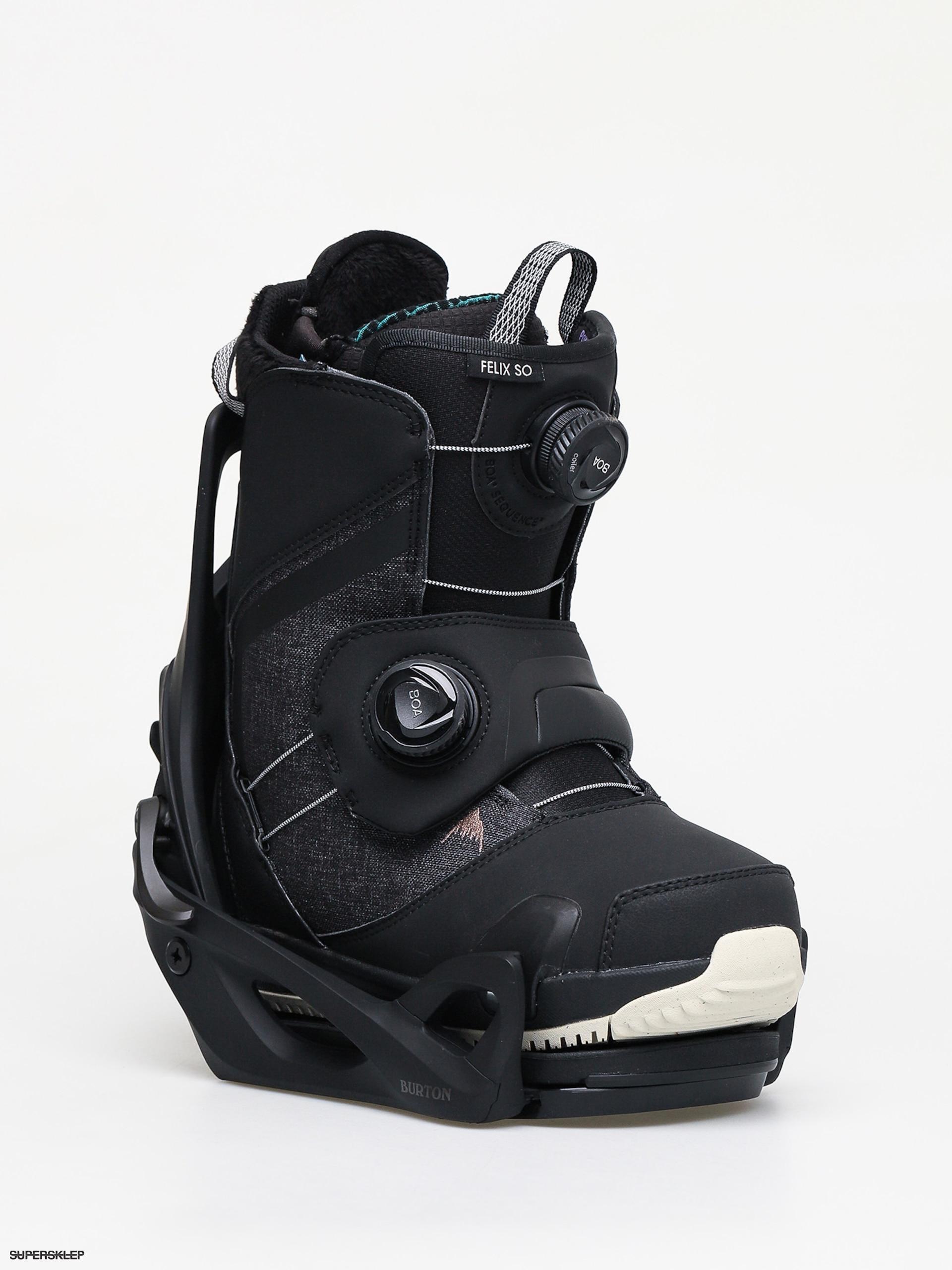 burton felix step on damskie wiązania buty snowboard