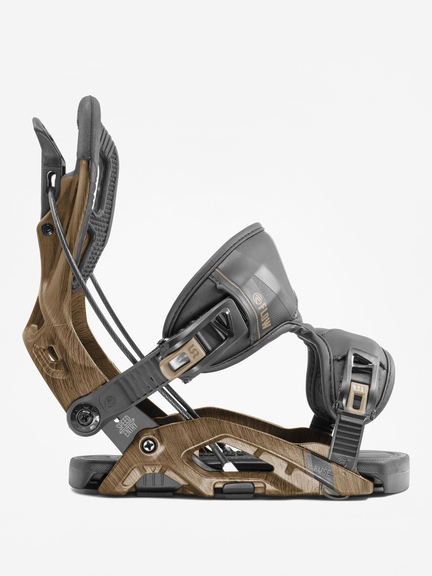 Wiu0105zania snowboardowe Flow Fuse (brown)