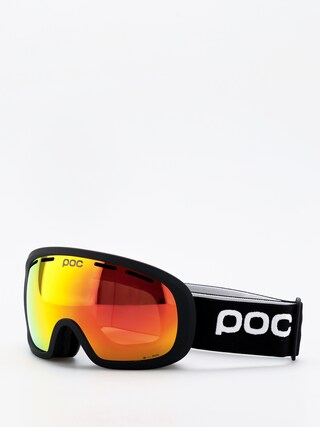 Gogle POC Fovea Mid Clarity (uranium black/spektris orange)