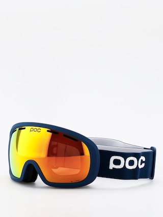 Gogle POC Fovea Mid Clarity (lead blue/spektris orange)
