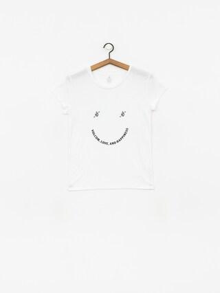 T-shirt Volcom Easy Babe Rad 2 Wmn (wht)