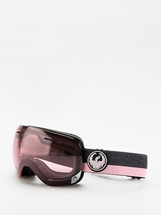 Gogle Dragon X1s (flux pink/transitions light rose)