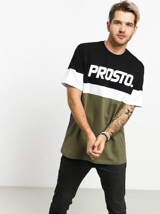 T-shirt Prosto Sepir (black/olive)