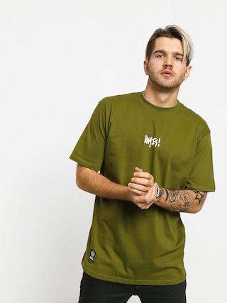 T-shirt MassDnm Signature Small Logo (khaki)