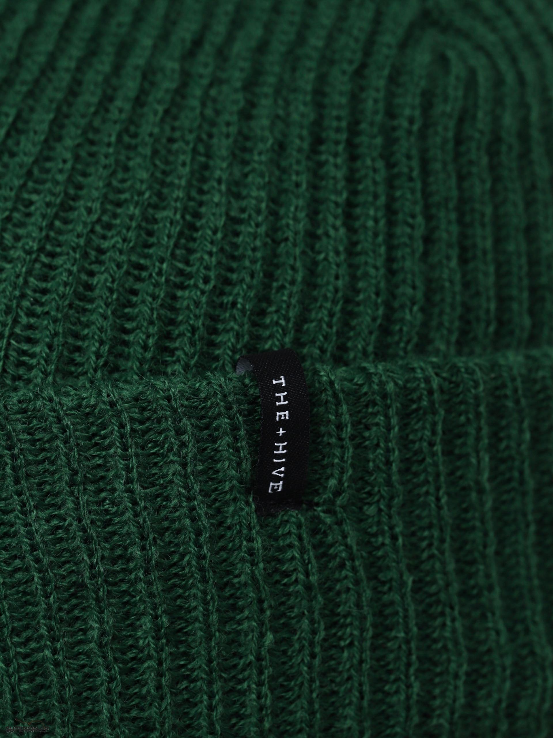 Czapka zimowa The Hive Docker Short (green)