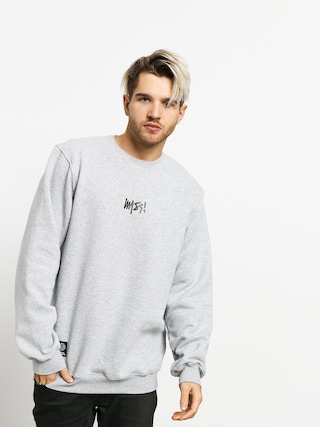 Bluza MassDnm Signature Small Logo (light heather grey)