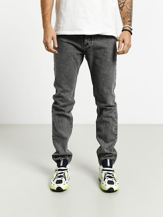 Spodnie MassDnm Signature Jeans Tapered Fit (black stone washed)
