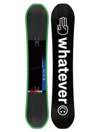 Deska snowboardowa Bataleon Whatever (black/white/green)
