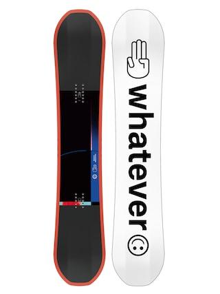Deska snowboardowa Bataleon Whatever (white/black/orange)