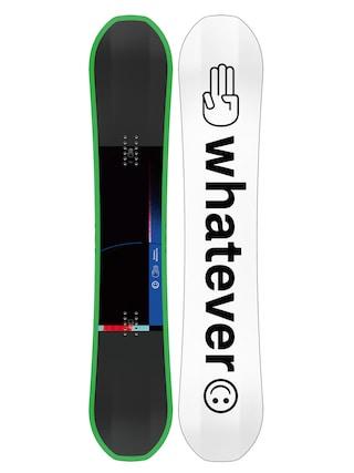 Deska snowboardowa Bataleon Whatever (white/black/green)