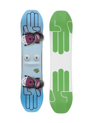 Zestaw snowboardowy Bataleon Minishred (white/green)