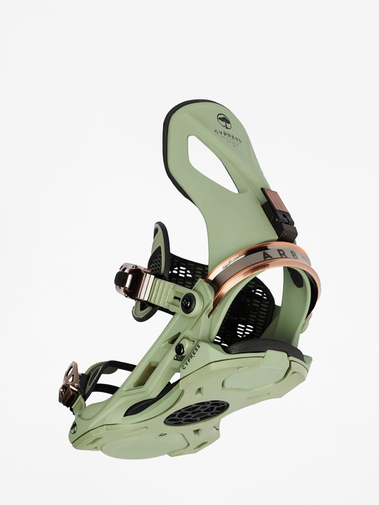 Wiu0105zania snowboardowe Arbor Cypress (green)