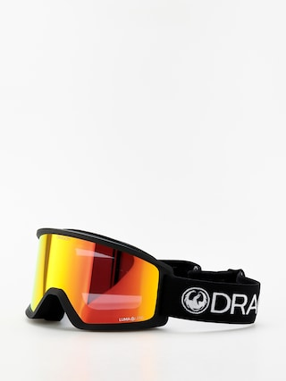 Gogle Dragon DX3 (black/lumalens red ion)