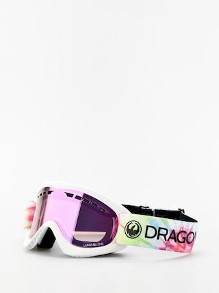 Gogle Dragon DXS (tie dye/lumalens pink ion)