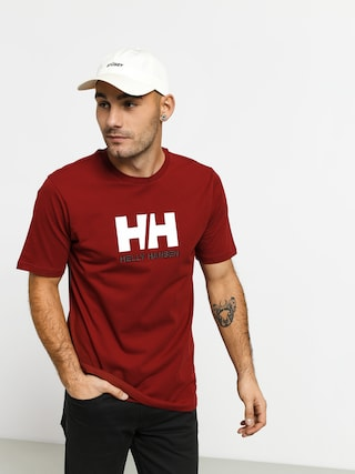T-shirt Helly Hansen Logo (oxblood)