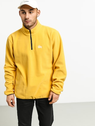 Bluza Stussy Basic Polar Fleece Mock (mustard)