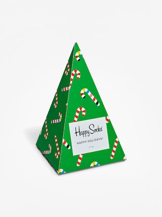 Skarpetki Happy Socks X Mass Giftbox 3pk (green/red)