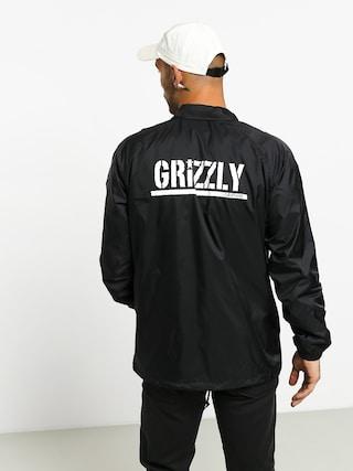 Kurtka Grizzly Griptape Og Bear Coaches (black/white)